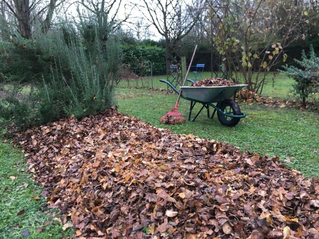Vivaces : un manteau pour l'hiver / Un jardin dans le Marais poitevin.